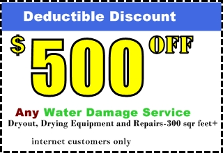 Water Damage Discounts